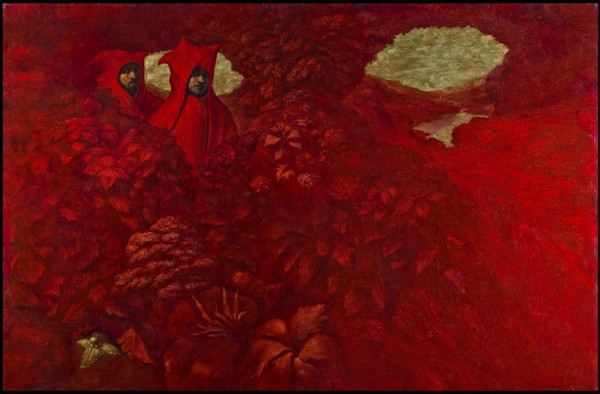 Guards of the Evening Glade. 2003. Oil on canvas. 185x284cm